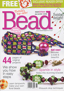 bead magazine issue 16 by mail order from EJR Beads