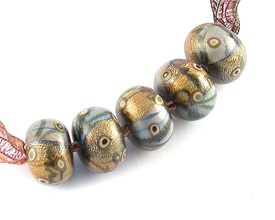 polymer clay beads by Emma Ralph