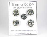 Fine Silver Charms at EJR Beads