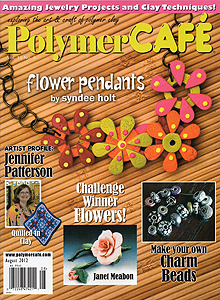 polymer cafe magazine at ejr beads