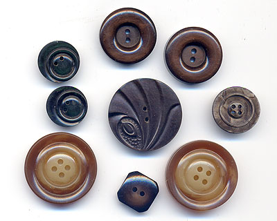 art deco vintage buttons at EJR Beads