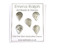 fine silver charms by Emma Ralph