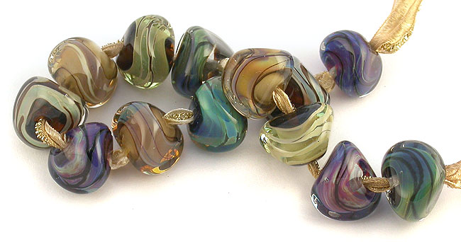 lampwork sra beads by Emma Ralphy