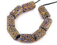 antique venetian millefiori trade beads