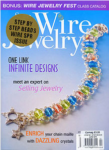 wire jewelry magazine at EJR Beads