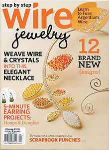 wire jewelry magazine august 2011